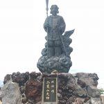二荒山神社の中宮祠から日光男体山を登山し、二荒山神社奥宮を目指して。