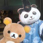 有鹿神社のパンダ宮司にお呼ばれしました。