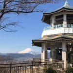 ベアフットシューズで富士山がキレイな弘法山へハイキング